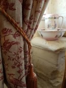 Beautiful Toile de Jouy classic French Fabrics birds of a feather
