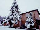 Gite in snow
