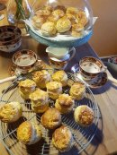 Smell of fresh Homemade Farmhouse scones to welcome You