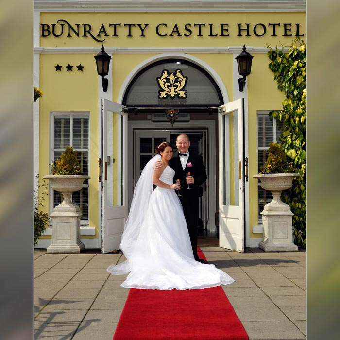 Wedding at Bunratty Castle Hotel