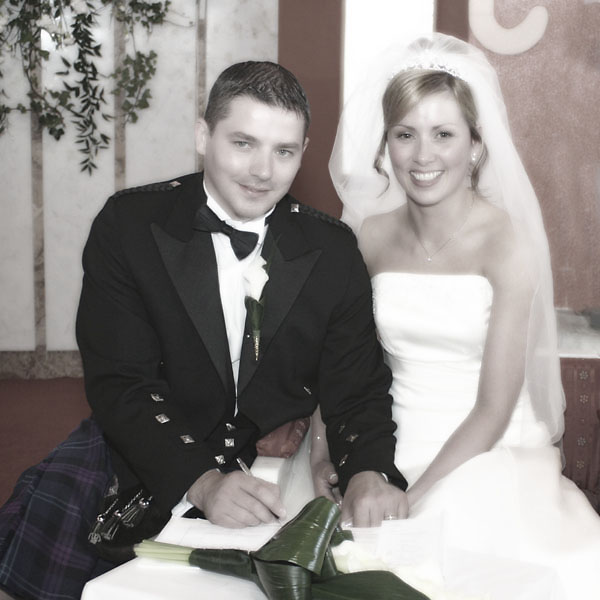 Wedding at Quilty Church