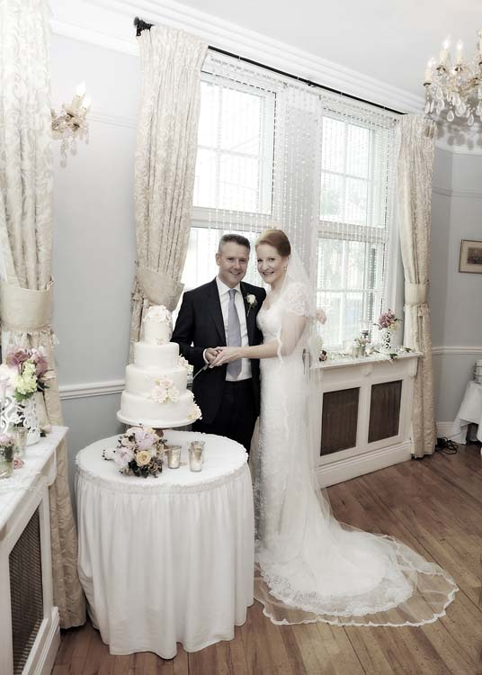 Tom and Aoife at Dunraven Arms Hotel, Adare