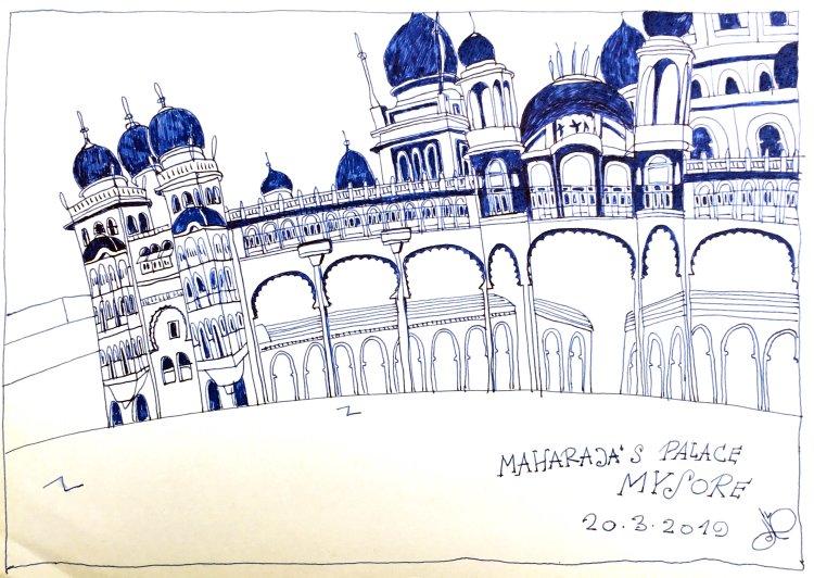 Maharaja's Palace Mysore