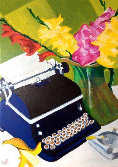 Typewriter Is Not Dead....