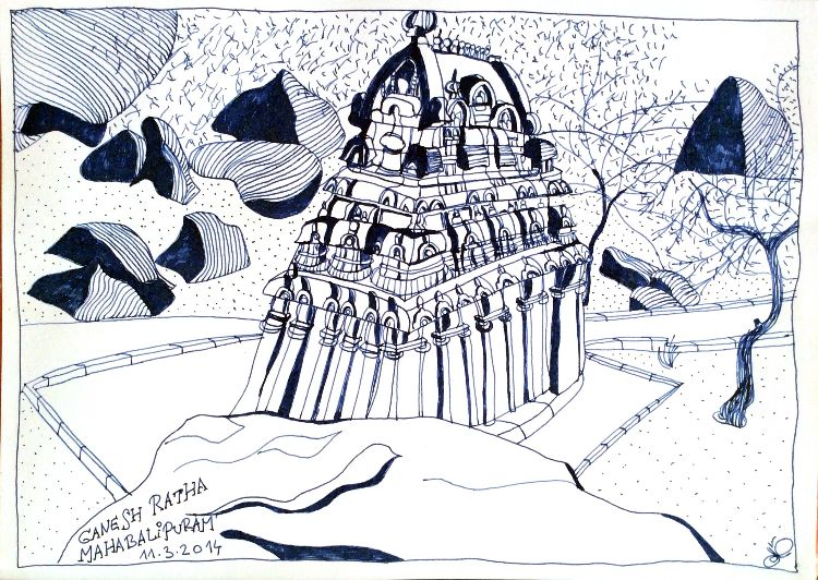 Ganesh Ratha Mahabalipuram