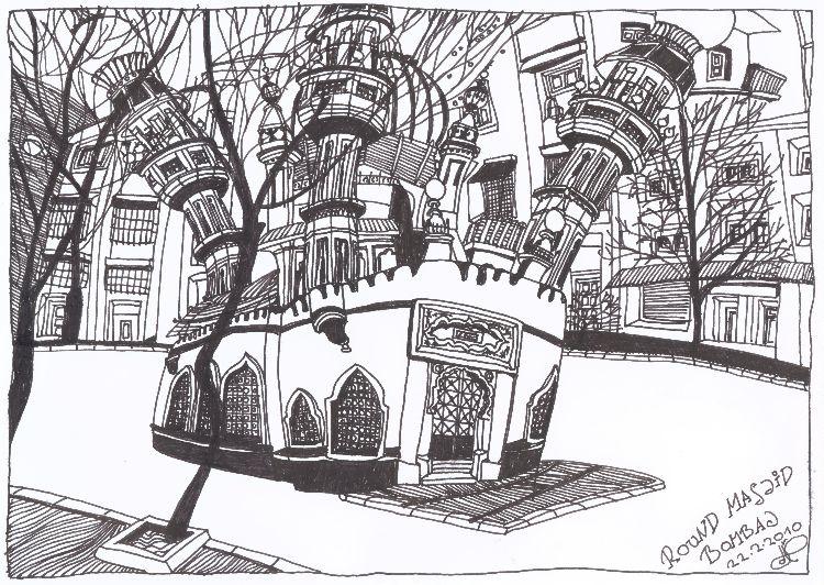 Round Masjid