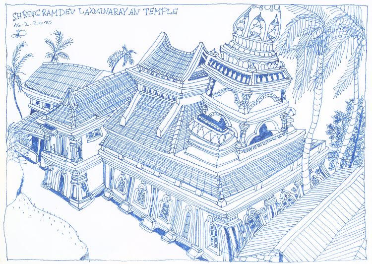 Shreegramdev Laxminaryan Temple