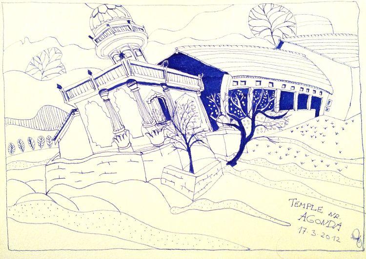 Temple nr. Agonda