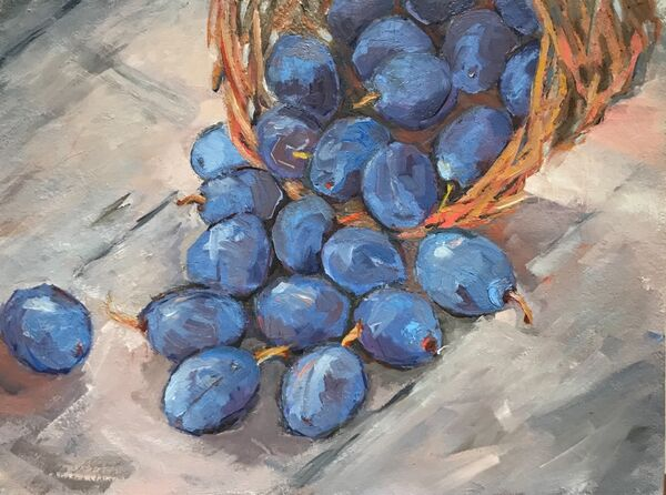 Plums for my Mother