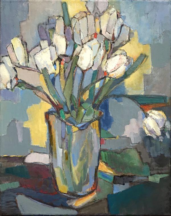 Utter peace in my gentle speech ( Tulips)