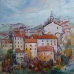 Village of Corsica II, (Afternoon)