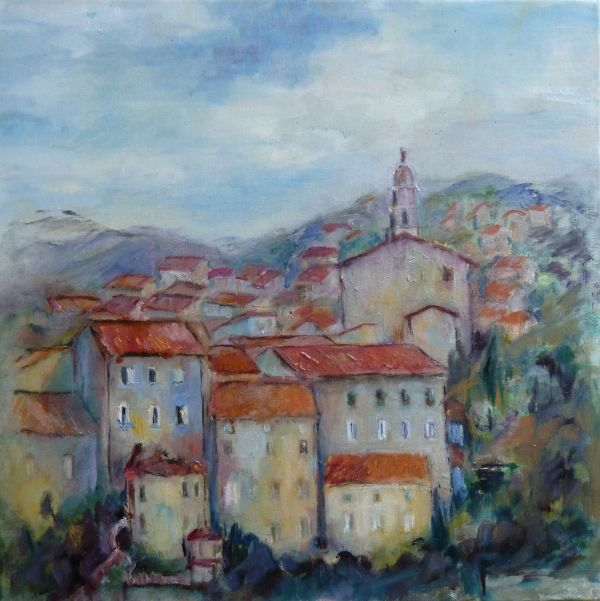 Village of Corsica, (Morning)