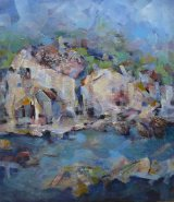 Istrian little town on sea, Croatia, SOLD