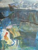 Dreams, 2010, Oil & Silk on Canvas, SOLD