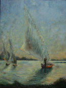 Felucca on Nile,