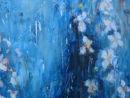 Flower-fall, Detail, Oil, 2009