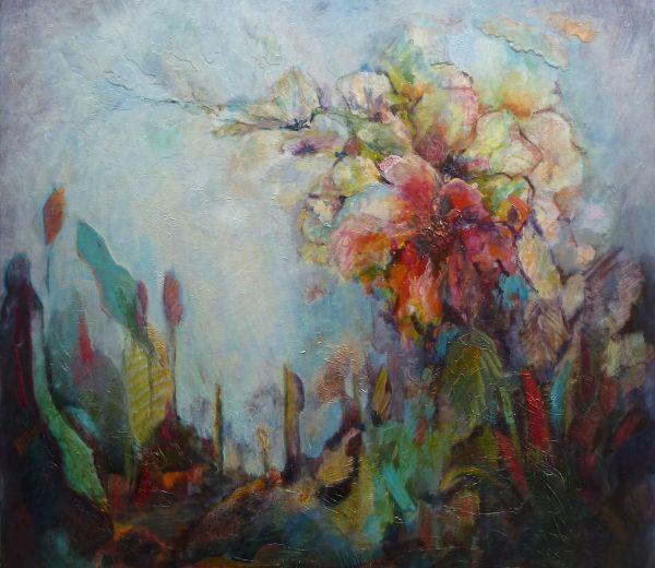 Hibiscus, Delicate Beauty;