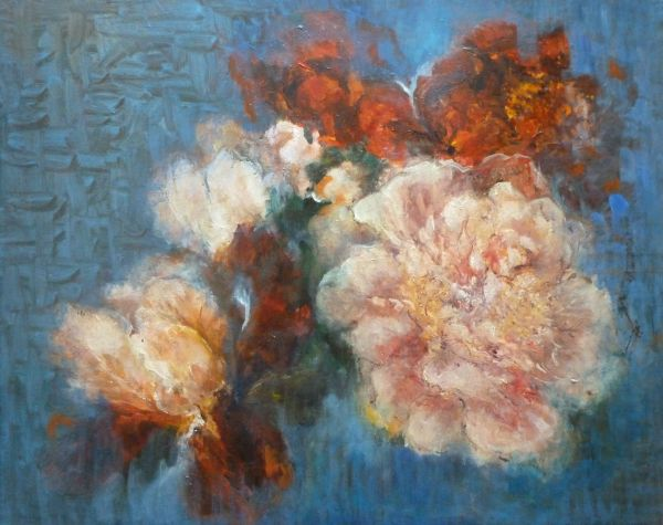 Peonies and Irises;