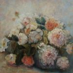 Roses and Peonies, SOLD