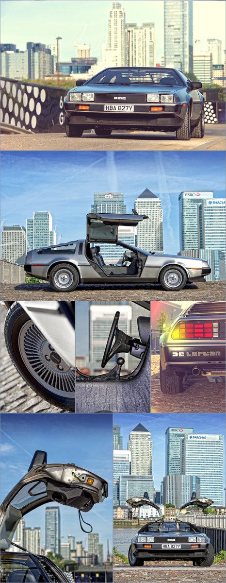 JASON DODD PHOTOGRAPHY: DELOREAN DMC-12 CAR PHOTOGRAPHY IN LONDON