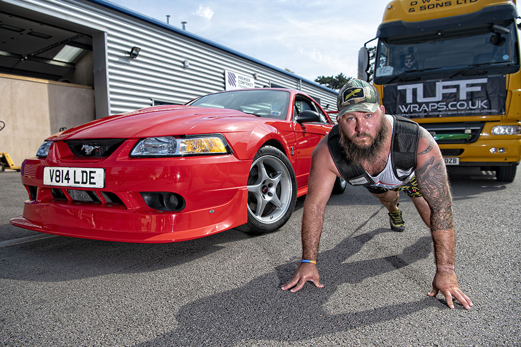 FAST FORD MAGAZINE MUSTANG COBRA R