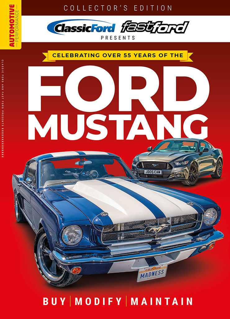 FAST FORD MUSTANG BOOKAZINE COVER