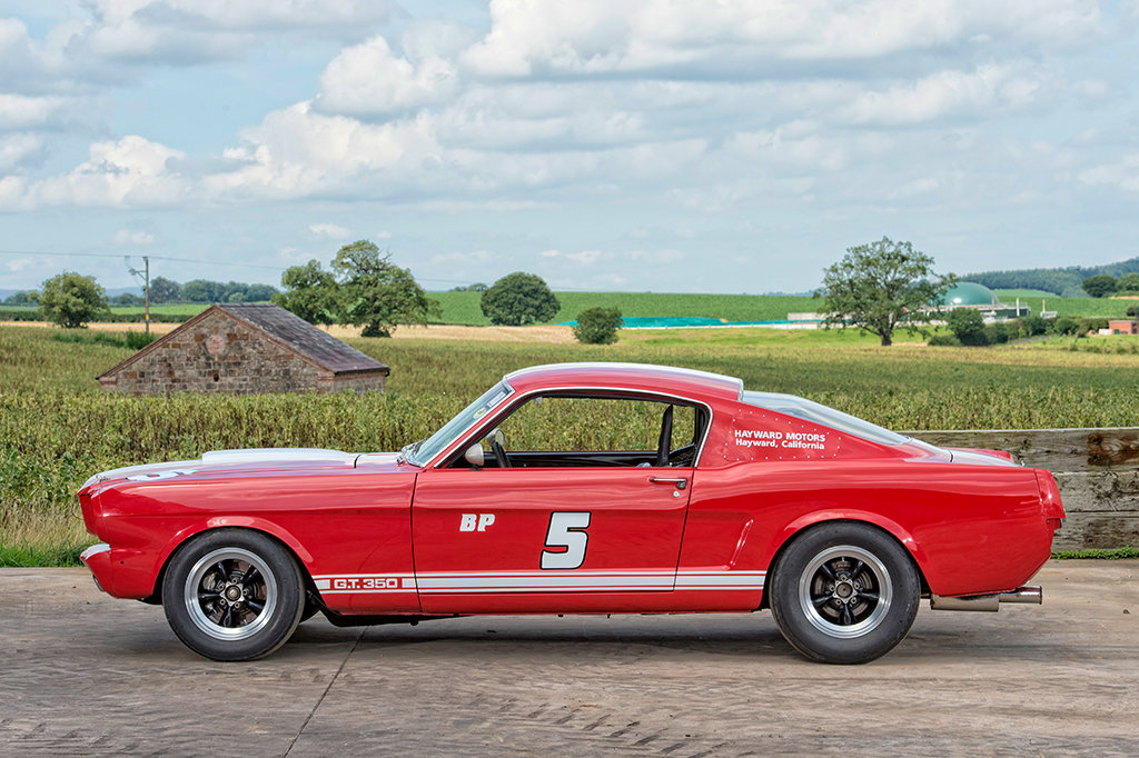 FORD MUSTANG GT350 SHELBY
