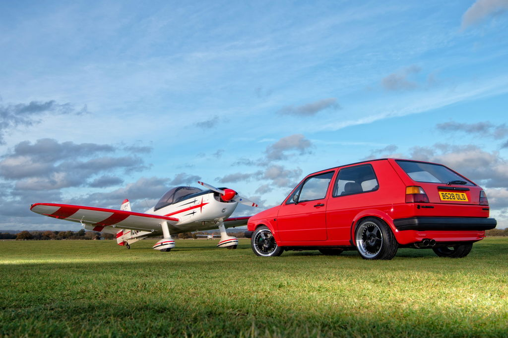 VW GOLF G60 CLASSIC CAR PHOTOGRAPHY