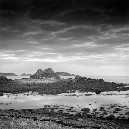 Round Island Lighthouse, St Matin's, Isles of Scilly
