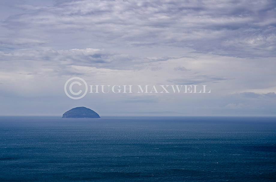 Ailsa Craig in the Firth of Clyde