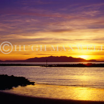 Colourful Arran Sunset