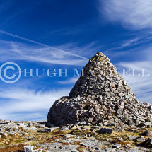Bronze Age cairn on Cairn Table