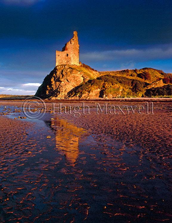 Greenan Castle - Glossy Canvas