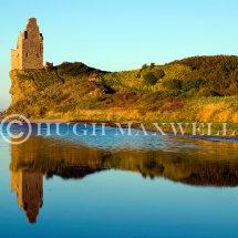 Greenan Castle Reflection