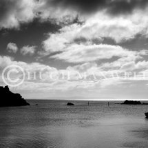 Dunyvaig Bay and Castle
