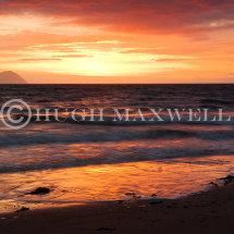 Lendalfoot Sunset