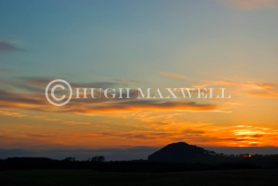 Loudoun Hill Sunset