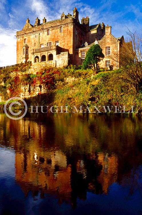 Sorn Castle Reflection