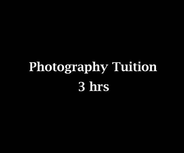 Photography Tuition 3hrs