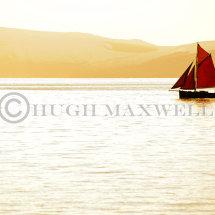 Red Sailing Boat