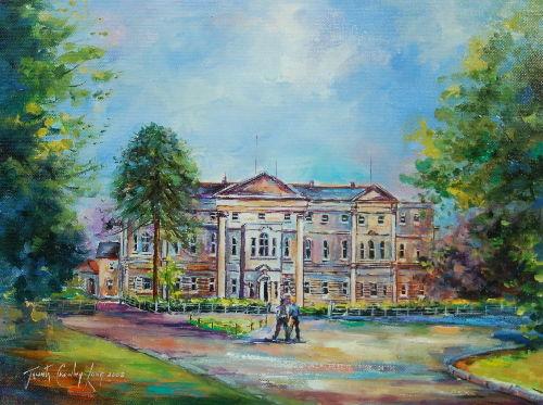 School days, Knockbeg College   <FONT COLOR=