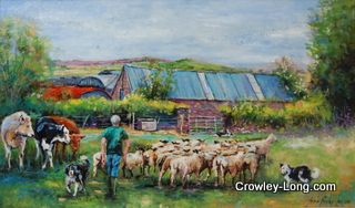 Outstanding in His Own Field (SOLD)