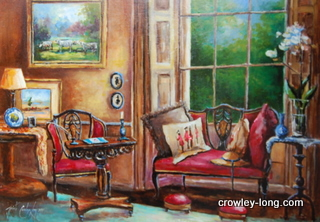 The Drawing Room, Aghold  <p style=&quot;font-size:12pt;&quot;>(SOLD)</p>