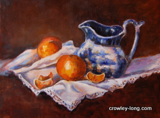 Breakfast Oranges (16 x 20ins)