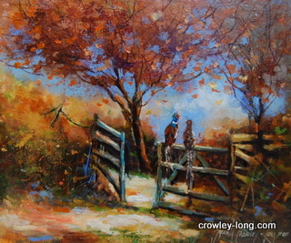 The Trysting Gate  <p style=&quot;font-size:12pt;&quot;>(SOLD)</p>