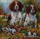 Hedge-hunt Managers (24 x 24 inches)