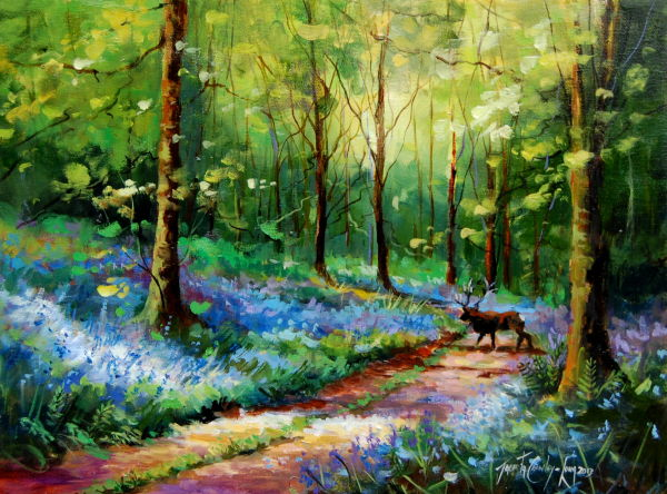 "Bluebell Spring <p style=""font-size:12pt;"">(SOLD)</p>"