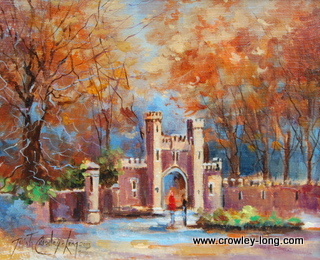 "Back to School, Autumn, Clongowes <p style=""font-size:12pt;"">(SOLD)</p>"