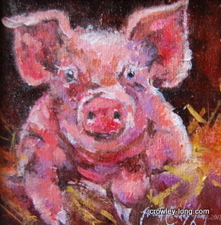 "Little Porker  <p style=""font-size:12pt;"">(SOLD)</p>"