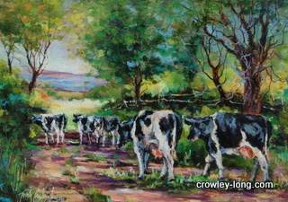 'Til the Cows Come Home <p style=&quot;font-size:12pt;&quot;>(SOLD)</p>